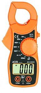 Alicate Amperimetro Icel Ad-8005 Tensão Dc/ac 600v Data Hold