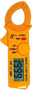 Alicate Amperímetro Digital - Ad-9005 Icel Ac: 20a, 200a