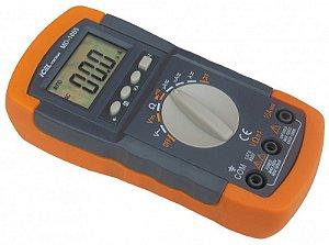 Multimetro Icel Digital Md-1005 200/2k/20k/200k/2m/20mohms
