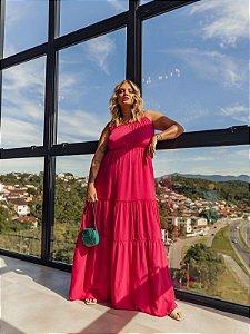 Vestido Plus Size Pietra Pink