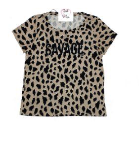 T-Shirt Plus Size Savage Nude