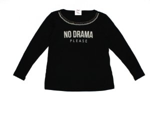 T-Shirt Plus Size No Drama Preto