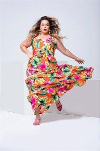 Vestido Longo em Viscose Mariah