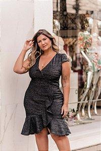 Vestido em Lurex Lorena