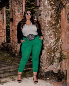 Calça Jogger Plus Size Join