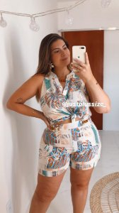 Conjunto Plus Size Margô