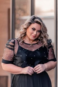 Blusa Princesa Plus Size Catherine