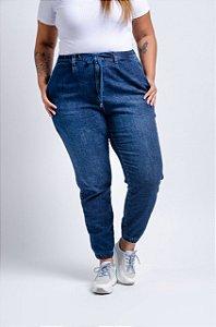 Calça Jeans Plus Size Jogger