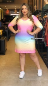 Vestido Plus Size Tie Dye Ohana