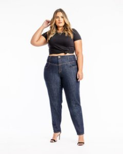 Calça Mom Fit Plus Size Pandora