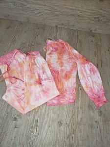 Conjunto Plus Size Tie Dye Dorthy