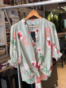 Camisa Plus Size Morgana Verde