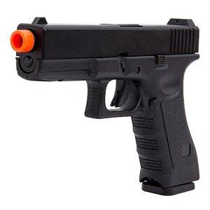 Pistola R17 Glock Black Army Armament  GBB com Blowback