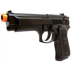 Pistola de Airsoft Spring Kwc M92 Modelo Beretta 92 Non Hop Up - Preta