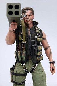 "Hot Toys MMS276 1/6th Arnold Schwarzenegger as ""Commando"" John Matrix 12"" Figure Review II"