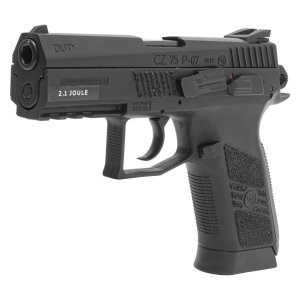PISTOLA  CZ 75 P-07 Duty (CO2) - com Blowback - 4.5mm