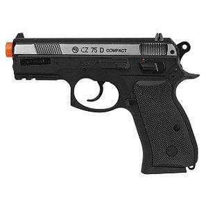 CZ 75 P-07 Duty Dual Tone (CO2) - com Blowback - 4.5mm