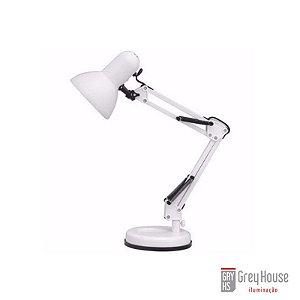 Luminária de Mesa Pixar Branca | Grey House