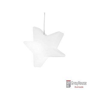Pendente Estrela Branco | Grey House