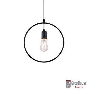 Pendente Aramado Forma Geométrica Redondo p 1x E27 | Grey House