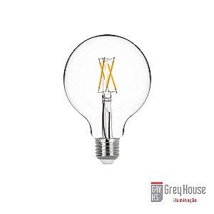 Lâmpada G95 Ballon Filamento 4W 400lm 2700K | Grey House