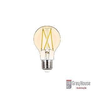 Lâmpada Bulbo Filamento Vintage 2W 200lm 2400K | Grey House