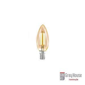 Lâmpada Vela Filamento 2W 2200K  E14 127V| Grey House
