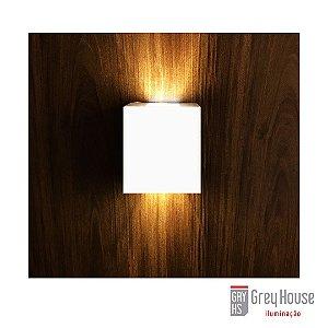 Arandela Kasse Multifoco Branca + Lâmpada G9 3000K| Grey House