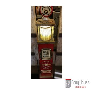 Luminária de Piso Estilo Vintage | Grey House