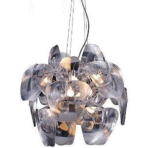 Lustre Austral Transparente 1 x E27 Ø60CM PD1706 | Arquitetizze