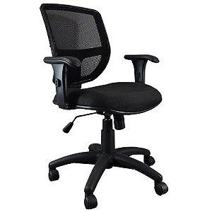 Cadeira Diretor Ergonômica Base Giratória Nylon Tela Mesh Cayman Plus | Design Chair