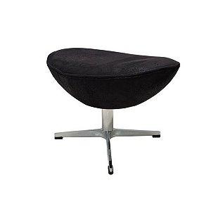 Puff Egg Base em Alumínio | Design Chair