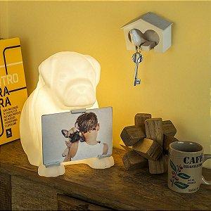 Luminária de Mesa com Porta Retrato Buddy | Usare