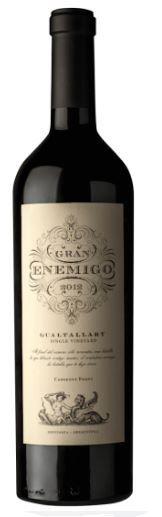 Gran Enemigo Single Vineyard Gualtallary Cabernet Franc -750ml