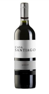 Vinho Chileno Casa Santiago Merlot 750ml