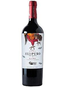 Vinho Argentino Vinecol Orgânico Red Puro Malbec 750ml
