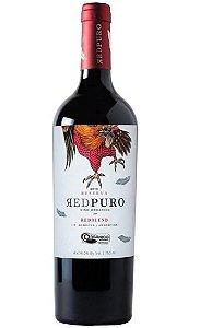Vinho Argentino Vinecol Orgânico Red Puro Blend 750ml
