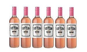 Leve 6 Pague 5 - Vinho San Telmo Rosé - 750ml
