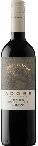 Vinho Orgânico Adobe Reserva Carménère 750 ml