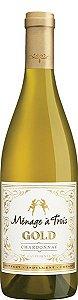 Vinho Branco Menage á trois Chardonnay-750ml