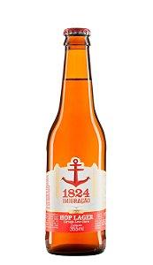 Cerveja 1824 Imigração Hop Lager Long Neck 355 ml
