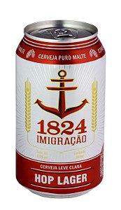 Cerveja 1824 Imigração Hop Lager Lata 350 ml