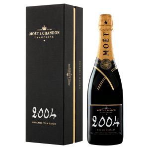 Champagne Moët & Chandon Grand Vintage 2004 com Cartucho 750ml