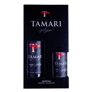 Kit Vinho Tinto Tamari Reserva Special Selection Malbec 750ml + Meia-Garrafa 375ml