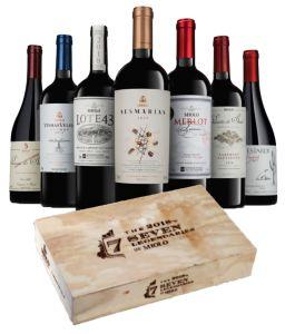 Miolo The Seven 2018 Lendários- kit com 7 garrafas de vinho da safra especial de 2018