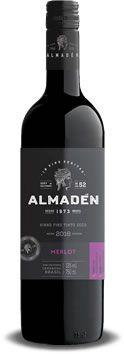 Vinho Almadén merlot - 750ML