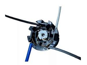 Interruptor De Cordinha 4 Fios Para O Motor Ventilador