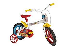 Bicicleta Infantil Patati Patatá Aro 12  3 a 5 Anos Styll