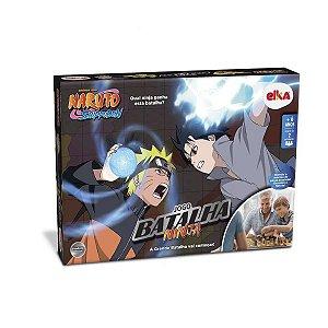 Jogo Batalha Ninja Naruto Shippuden - Jogo de Tabuleiro Elka