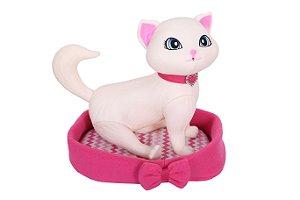 Barbie Pet Gatinha Blissa Com Acessórios - Ela faz Xixi